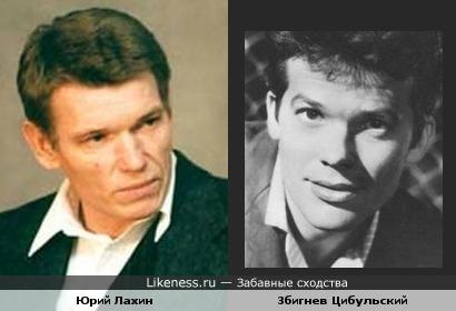 Актёры Збигнев Цибульский и Юрий Лахин