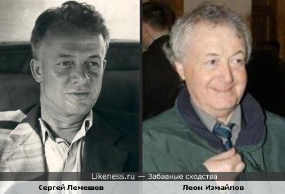 Певец Сергей Лемешев и писатель-сатирик Леон Измайлов