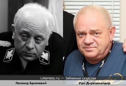 Леонид Броневой в роли Мюллера и легенда немецкого металла Удо Диркшнайдер