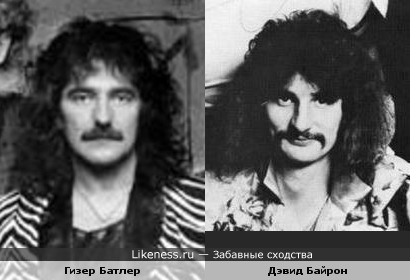 Две легенды.... Дэвид Байрон (Uriah Heep) и Гизер Батлер ( Black Sabbath)