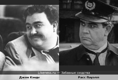 Актёры Джон Кэнди и Расс Пауэлл