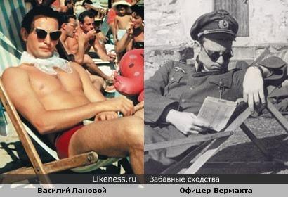 """На отдыхе в 1941 и 1961 """"....Как красиво плывёт, та группа, в полосатых купальниках...."""""""