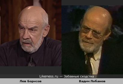 Актёры Лев Борисов и Вадим Лобанов