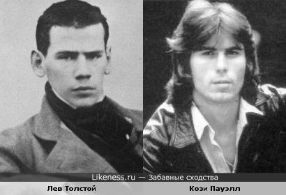 Два классика... Писатель Лев Толстой и ударник Кози Пауэлл