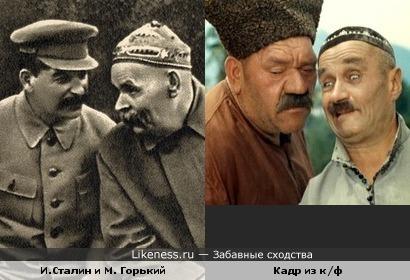 """Комедия и трагедия... всё в истории повторяется... """"Кавказская пленница"""" а может быть """"Кавказский пленник""""???"""