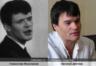 Композитор Станислав Пожлаков и актёр Евгений Дятлов
