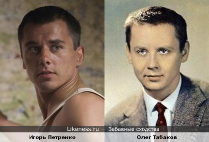 Актёры Игорь Петренко и Олег Табаков