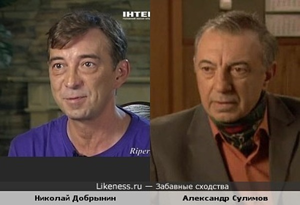Актёры Александр Сулимов и Николай Добрынин