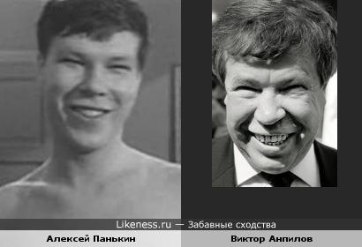 Актёр Алексей Панькин и политик Виктор Анпилов