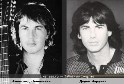 Лидер группы SpaceДидье Маруани и Александр Башлачев