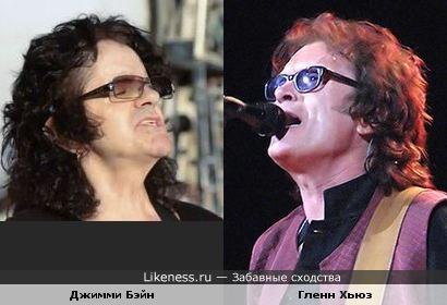 """Басисты """"Deep Purple Family"""" все на одно лицо..... (Гленн Хьюз и Джимми Бэйн)"""