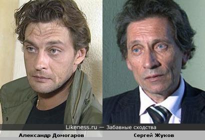 Из актёров до председателя совета директоров.. (Александр Домогаров и Сергей Жуков)