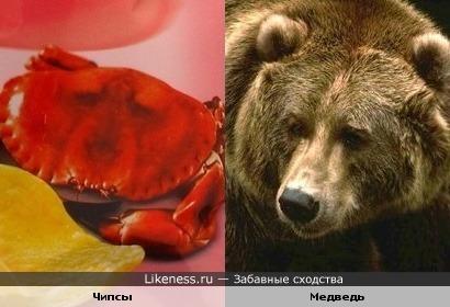 "Чипсы ""Lays"" со вкусом бурого медведя"