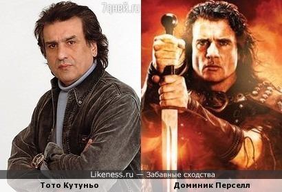 """Тото Кутуньо в фильме """"Королество викингов"""""""
