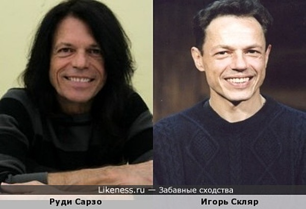 Бас-гитарист Руди Сарзо (Ozzy Osbourne) и актёр Игорь Скляр
