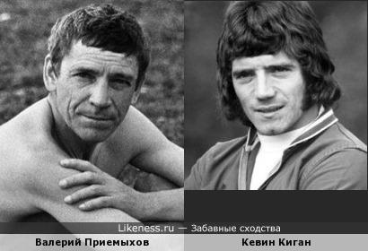 Актёр Валерий Приемыхов и легенда Английского футбола
