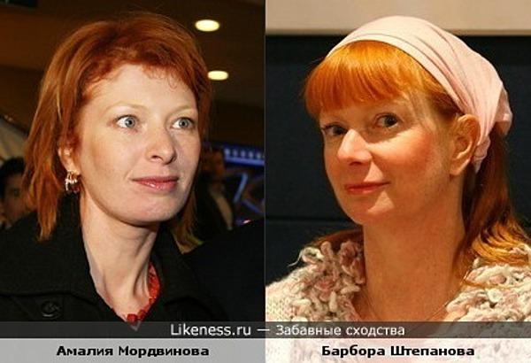 Амалия Мордвинова и Барбора Штепанова