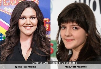 Дина Гарипова похожа на дочь Хэнка Муди