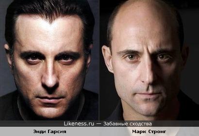 Энди Гарсия и Марк Стронг