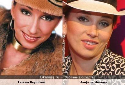 Елена Воробей похожа на Анфису Чехову