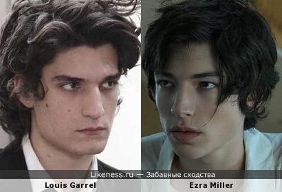 Луи Гаррель vs Эзра Миллер