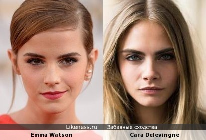 Emma Watson vs Cara Delevingne