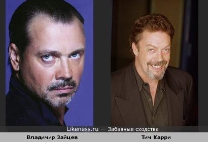 Владимир Зайцев и Тим Карри похожи