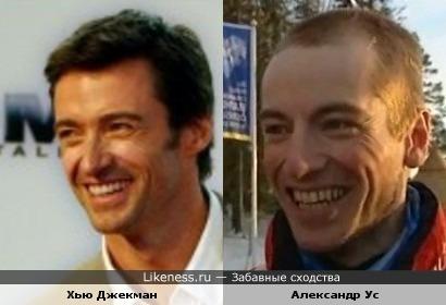 Норвежский биатлонист похож на Хью Джекмана
