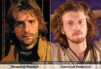 Еще Владимир Кошевой имеет некоторые общие черты с коллегой по цеху Станиславом Рядинским