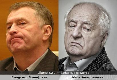 Владимир Жириновский и Марк Захаров