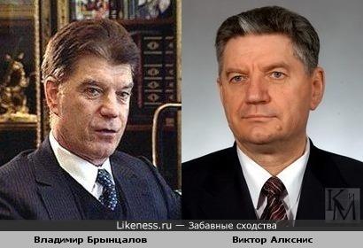 Российские политики Владимир Брынцалов и Виктор Алкснис
