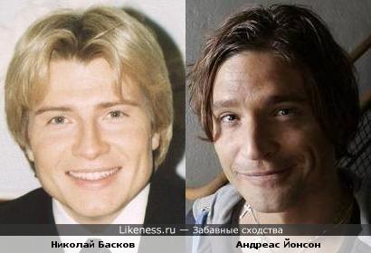 Николай басков и шведский певец