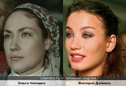 Актриса Ольга Матешко и певица Виктория Дайнеко