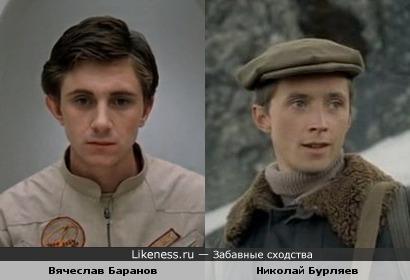 Актеры Вячеслав Баранов и Николай Бурляев