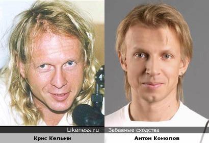 Антон Комолов - это Крис Кельми в молодости?