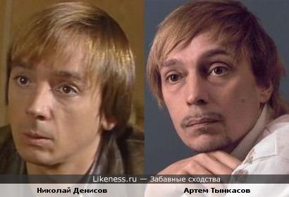 Актеры Николай Денисов и Артем Тынкасов