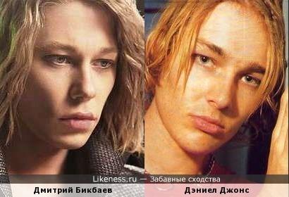 """Дмитрий Бикбаев и вокалист рок-группы """"Silverchair"""" Дэниел Джонс"""