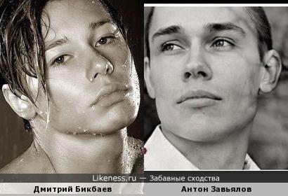"""Дмитрий Бикбаев и вокалист группы """"25/17"""" Антон Завьялов (Ант)"""