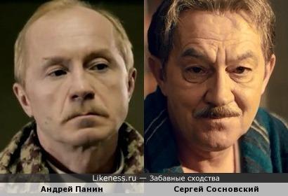Актеры Андрей Панин и Сергей Сосновский
