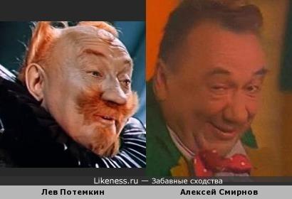 Актеры Лев Потемкин и Алексей Смирнов