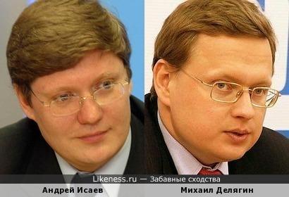 Депутат Андрей Исаев и экономист Михаил Делягин