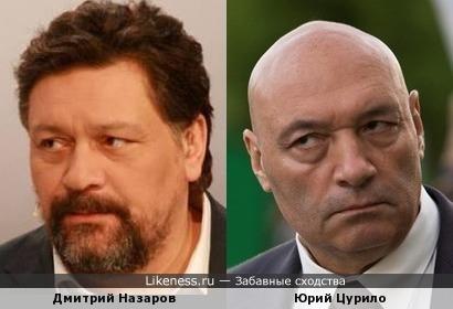 Дмитрий Назаров - загримированный Юрий Цурило? :)