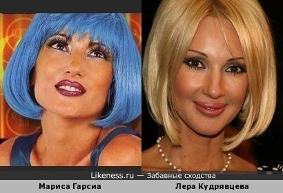 """Мариса Гарсиа из группы """"Paradisio"""" и Лера Кудрявцева"""
