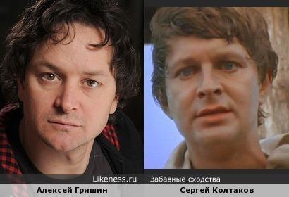 Актеры Алексей Гришин и Сергей Колтаков