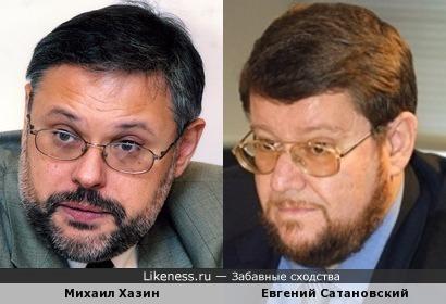 Политологи Михаил Хазин и Евгений Сатановский