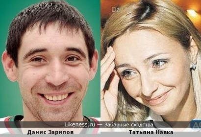 Покорители льда Данис Зарипов и Татьяна Навка