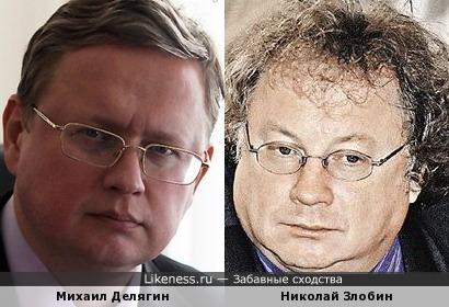 Михаил Делягин и Николай Злобин