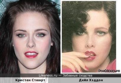 Актрисы Кристен Стюарт и Дейл Хэддон