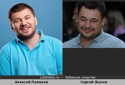 Телерадиоведущий Алексей Поляков и Сергей Жуков