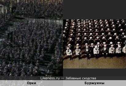 """Кадры из фильмов """"Властелин колец: Две крепости"""